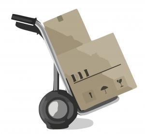宅配買取の箱