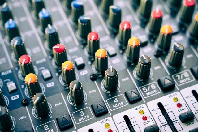 スタジオの画像